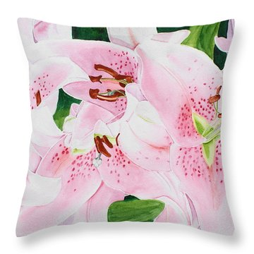 Stargazers Number 3 Throw Pillow