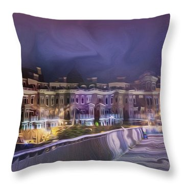 Starless Night Throw Pillow