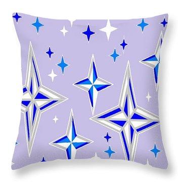 Starlight 11 Throw Pillow