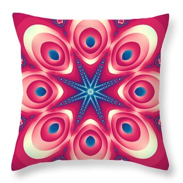 Starlight Chained Throw Pillow