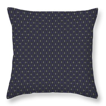 Throw Pillow featuring the painting Starlight Crows by Kym Nicolas