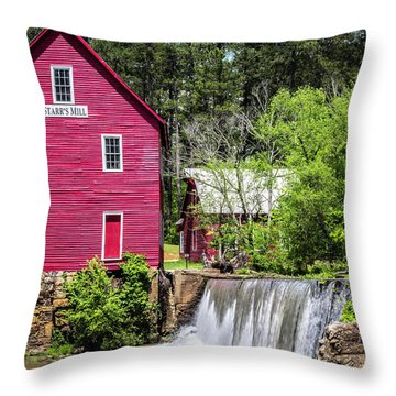 Starr's Mill 2 Throw Pillow