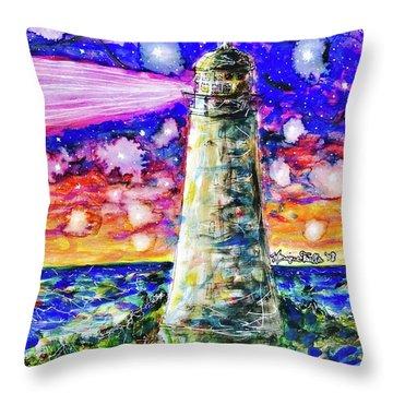 Starry Light Throw Pillow