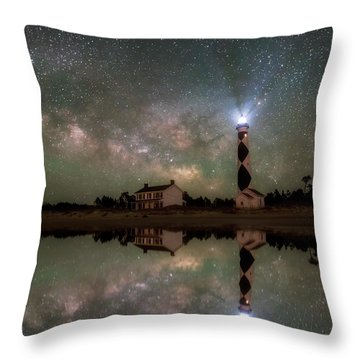 Starry Reflections Throw Pillow