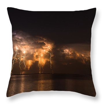 Stars And Bolts Throw Pillow
