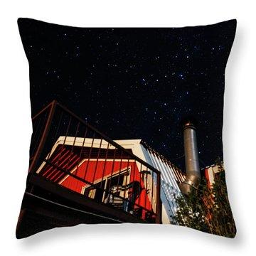 Stars Over Gila Cottage Throw Pillow