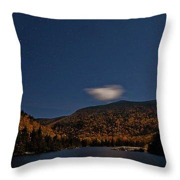 Stars Over Kinsman Notch Throw Pillow