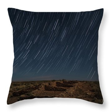 Stars Remain Unchanged Throw Pillow