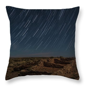 Throw Pillow featuring the photograph Stars Remain Unchanged by Melany Sarafis