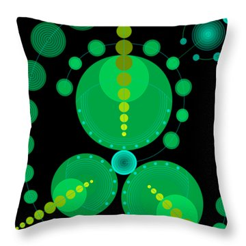 Starship Color Throw Pillow