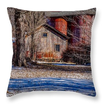 Starting To See Red Throw Pillow