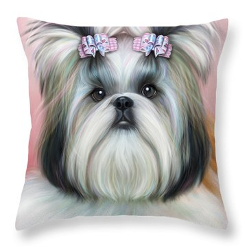 Stassi The Tzu Throw Pillow