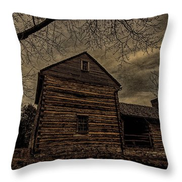 State Capital Of Tennessee Throw Pillow