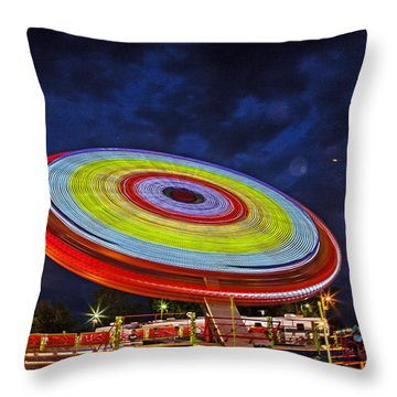 State Fair Throw Pillow by Sennie Pierson