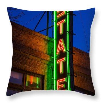 State Theatre - Ithaca Throw Pillow