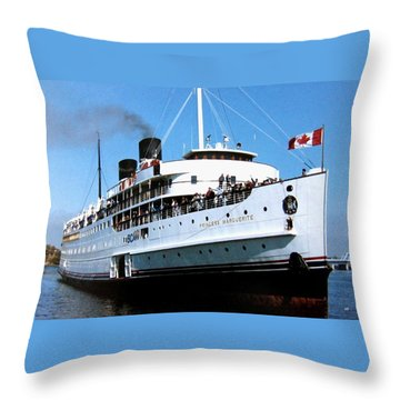 Stately Princess Marguerite Throw Pillow by Will Borden
