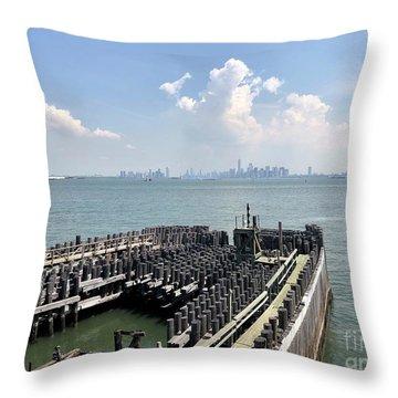 Staten Island  Throw Pillow