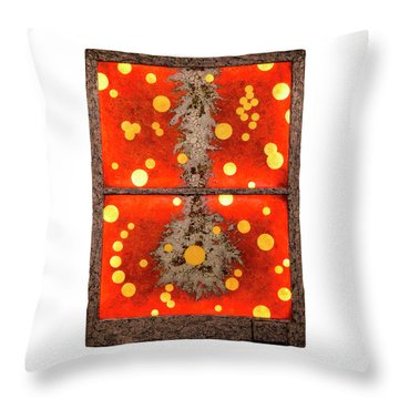 Static Pendulum Throw Pillow