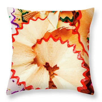 Colored Pencil Drawings Throw Pillows