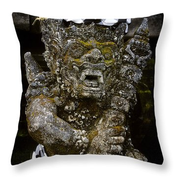 Statue Formalwear Throw Pillow