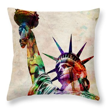 Statue Throw Pillows