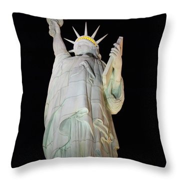 Statue Of Liberty.... Not Throw Pillow