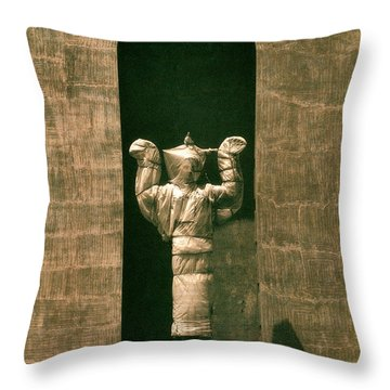 Statues Individual #1 Throw Pillow