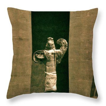 Statues Individual #3 Throw Pillow