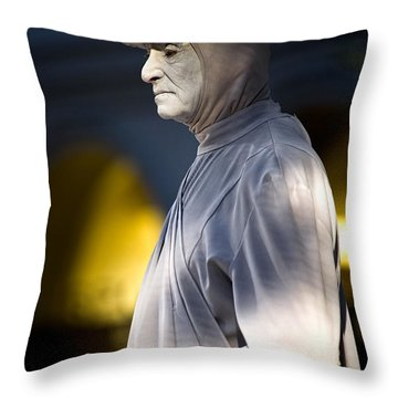 Statuesque Throw Pillow