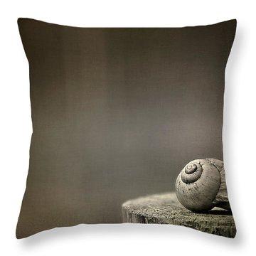 Stay Throw Pillow by Evelina Kremsdorf