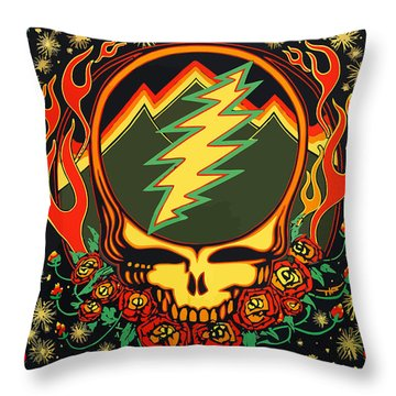 Steal Your Face Special Edition Throw Pillow