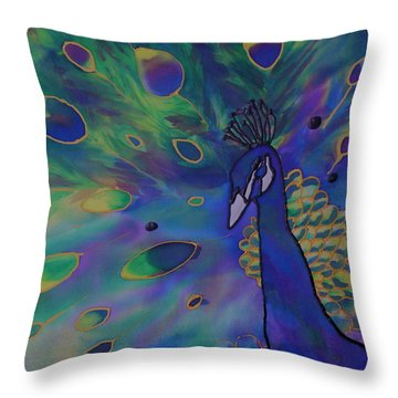 Stealing The Show Throw Pillow by Joanne Smoley