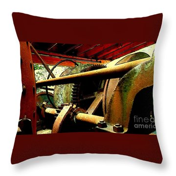 Steam Donkey Throw Pillow