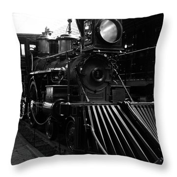 Choo-choo Throw Pillow