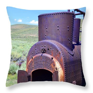 Steam Generator Throw Pillow