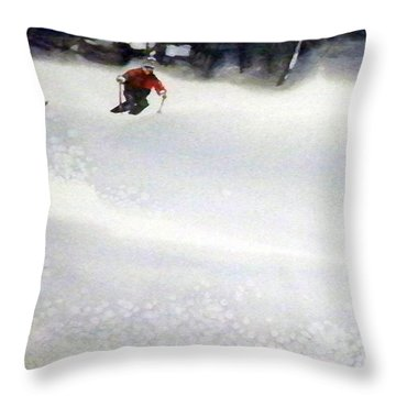 Throw Pillow featuring the painting Sugar Bowl by Ed Heaton