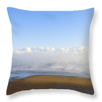 Steaming Up Throw Pillow by Svetlana Sewell
