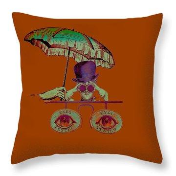 Steampunk T Shirt Design Throw Pillow