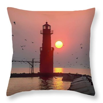 Steamy And Dreamy Throw Pillow