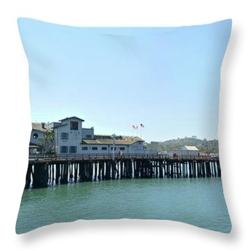 Stearns Wharf 2 Throw Pillow
