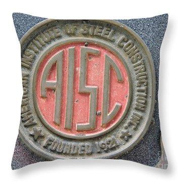 Steel Seal Throw Pillow
