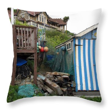 Steephill Cove Throw Pillow