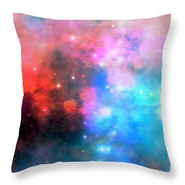 Stellar Relic Throw Pillow by Corey Ford