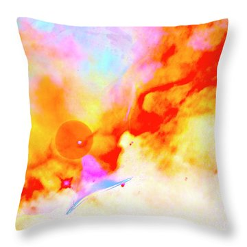 Stellar Throw Pillow by Xn Tyler