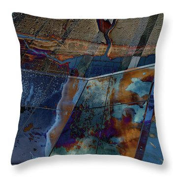 Step Forth Throw Pillow