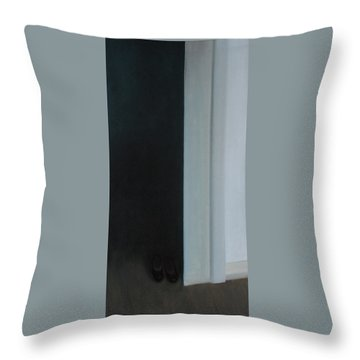 Stepping Into The Light? Throw Pillow
