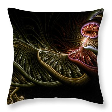Stepping Through Time Throw Pillow