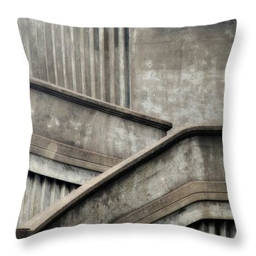 Steps Throw Pillow by Newel Hunter