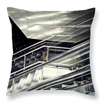 Steps Throw Pillow by Sarah Loft