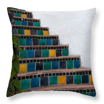Steps Two Throw Pillow